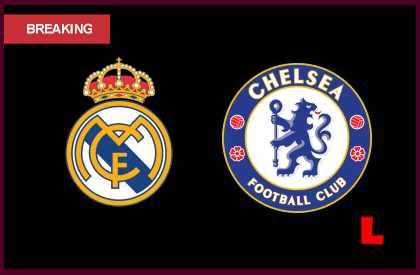 Real Madrid vs Chelsea 2013: Ronaldo Battles Tied Score in Half en vivo live score results