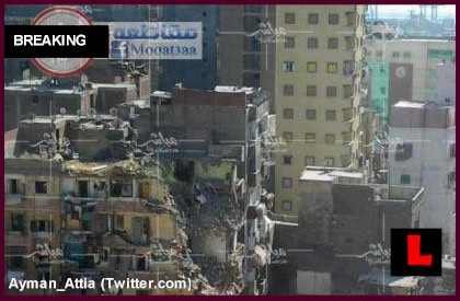 Alexandria Building Collapse Strikes Egypt Today