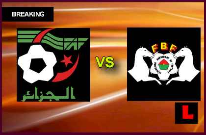 Alg�rie vs Burkina Faso 19-11-2013 Coupe du Monde