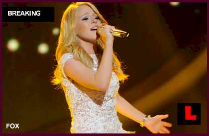 American Idol 2012 Top 3 Results Tonight Prompt Hollie Cavanagh Elimination