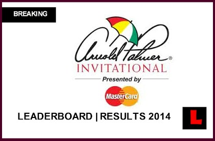 Arnold Palmer Invitational Leaderboard 2014 Delivers  Surprise Scores live score results tiger woods tee times