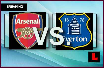 Arsenal vs Everton 2013 Prompts Score Battle Today live score results channel today game