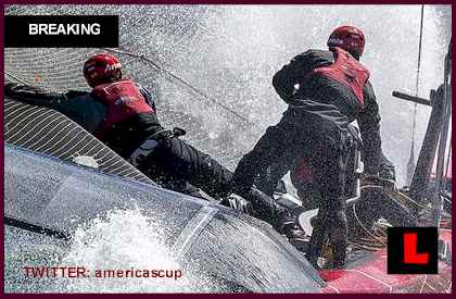 America's Cup Boat Capsized: Swedish Team Artemus Racing AC72