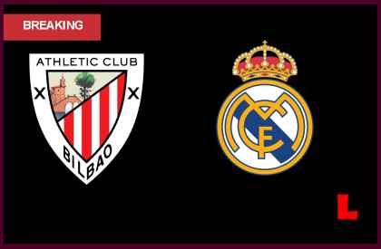 en vivo live score results Athletic Bilbao vs Real Madrid 2013: Cristiano Ronaldo Scores Early