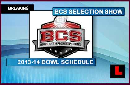 ncaafscore college football bowl selection show