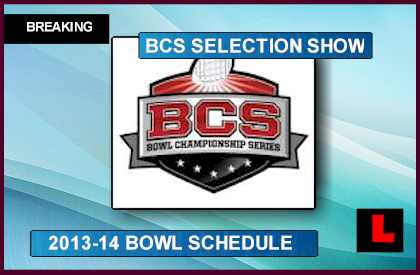 NCAA College Football Bowl Schedule