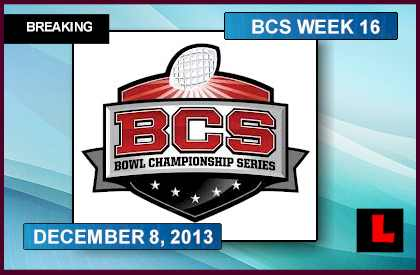 college football scores from today bcs standings