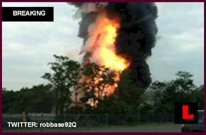 Baltimore Train Derailment Explosion Today 2013: Rosedale, MD Buildings Collapse