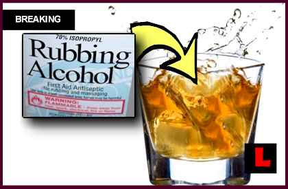 Bar Served Rubbing Alcohol, & New Jersey TGI Fridays Cheating