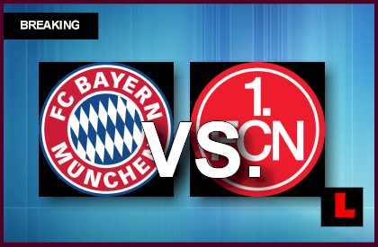 Bayern Munich vs. Nurnberg 2013 Battles in Bundesliga Today  en vivo live score results today