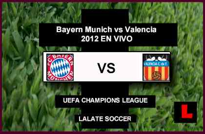 live score Bayern Munich vs. Valencia 2012 Battle in UEFA Champions League Match