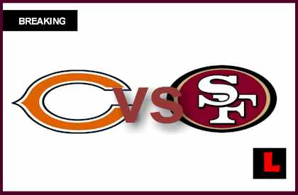 score live Bears vs 49ers 2012: Jason Campbell Starts for Jay Cutler