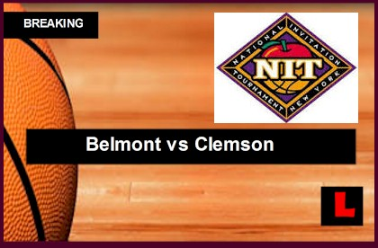 Belmont vs. Clemson 2014 Score Prompts NIT Bracket in Elite 8 printable live score results college basketball