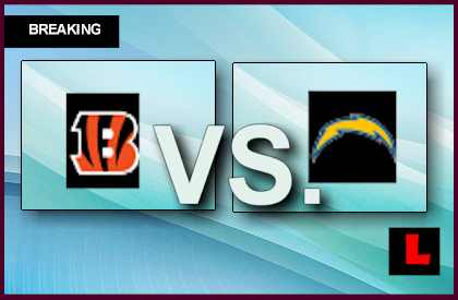 Bengals vs. Chargers 2013: Ladarius Green Scores before Halftime live score results channel today game