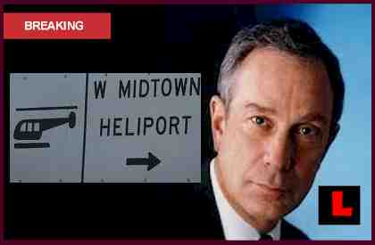Bloomberg Helicopter Curfew Violations Caught by Ron Sticco at Heliport