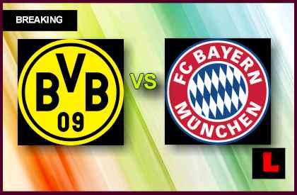 Borussia Dortmund vs. Bayern Munich 2013 Prompts Champions League Final en vivo live score results today