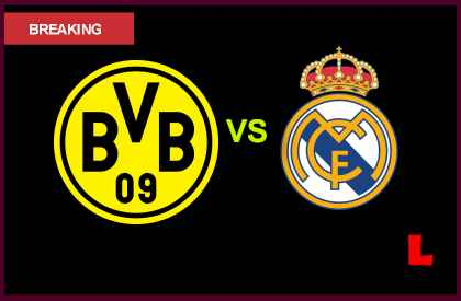 en vivo live score results below futbol  Borussia Dortmund vs Real Madrid 2013 Battles in UEFA Champions League