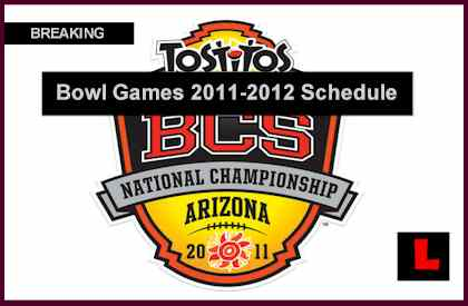 bowl games on tv today bcs football schedule