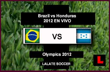 Brazil vs. Honduras 2012 Head to Olympics Quarterfinals