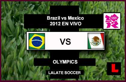 Brazil vs Mexico 2012 Battle in Olympics Soccer Finals, Gold