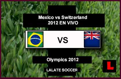 Brazil vs. New Zealand 2012 - Neymar Leads Olympic Team in Group C 