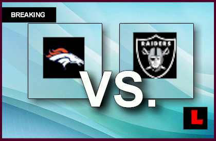 Broncos vs. Raiders 2013 Battles Real Housewives Beverly Hills Image