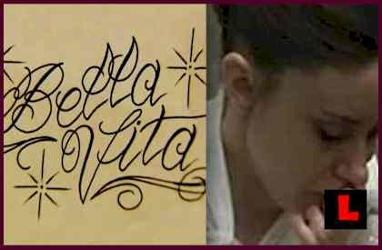 Bella Vita casey anthony tattoo