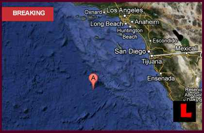 California Earthquake Today 2012: Terremoto Strikes Mexico, Los Angeles, San Diego