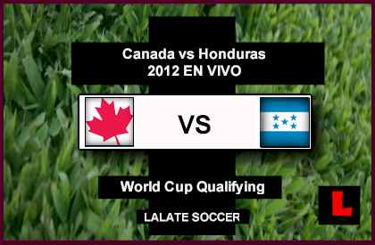 Canada vs Honduras 2012 Battle in Key Copa Mundial Qualifier