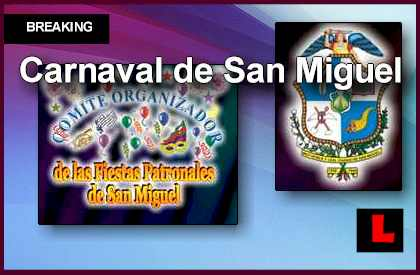 Carnaval de San Miguel En Vivo 2013 Broadcast Returns to El Salvador streaming video live tonight november 30, 2013
