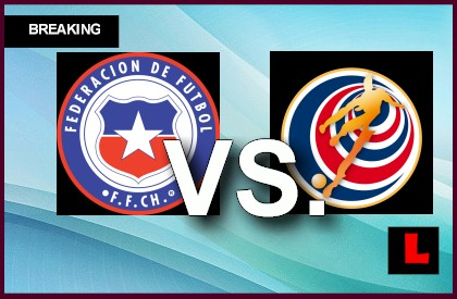 Chile vs. Costa Rica 2014 Score Ignites International Soccer Friendly en vivo live score results today