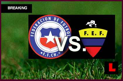 Chile vs. Ecuador 2013 Score Decides World Cup Spot en vivo live score results today