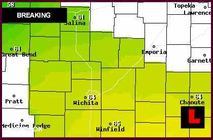 Coldwater Kansas Tornado Today 2012 Prompts Alert Across Region