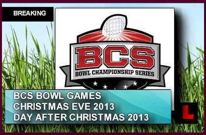 college football bowl games christmas eve 2013 heats up bcs schedule - Christmas Day College Football