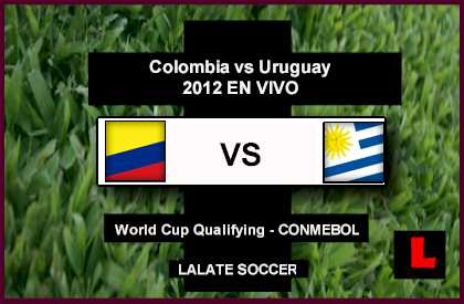 Colombia vs. Uruguay 2012 Battle in CONMEBOL Showdown