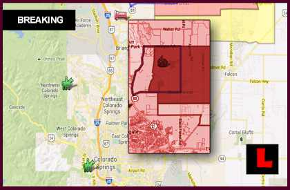 Colorado Fire Map 2013: Colorado Wildfires map Colorado springs fire map Today
