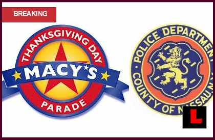 Confetti was Confidential Police Documents for Macy's Parade 