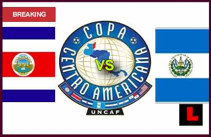 en vivo live score results start time Costa Rica vs. El Salvador 2013: Arrieta Seeks Copa Centroamericana Win