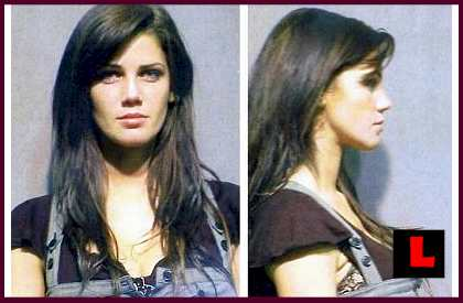 Crystal McCahill Mug Shot PHOTOS