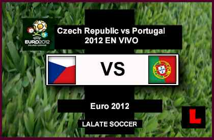 Czech Republic vs Portugal 2012: Cristiano Ronaldo Battles in Euro 2012