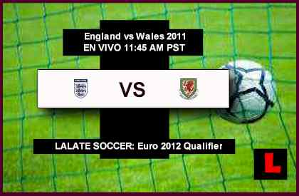 England vs Wales 2011 Battle in Euro 2012 Qualifier