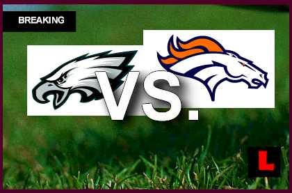 Eagles Vs Broncos 2013 Trindon Holliday Scores Kickoff Return