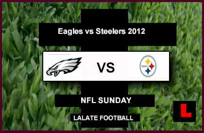 score live Eagles vs Steelers 2012: Ben Roethlisberger Takes on Michael Vick