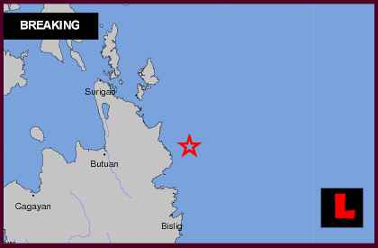 Earthquake Today in Philippines 2013 Strikes Cagwait