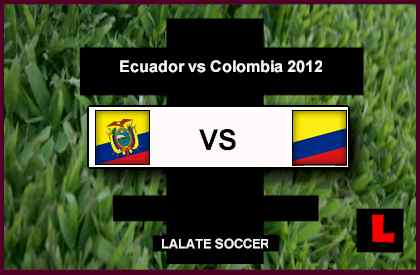 Ecuador vs Colombia 2012: Cristian Benitez Delivers Win