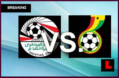 Egypt vs. Ghana 2013 Score Ignites World Cup Qualifier en vivo live score results today
