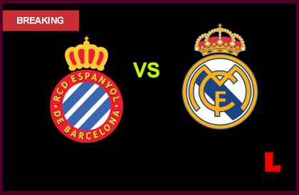 en vivo live score results today  Espanyol vs. Real Madrid 2013 Battles in Primera Match Today