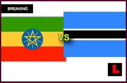 Ethiopia vs. Botswana 2013 Prompts World Cup Qualifier en vivo live score results today