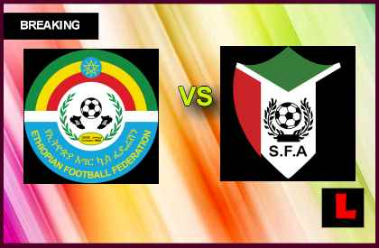 Ethiopia vs. Sudan 2013 Prompts Soccer Showdown en vivo live score results today