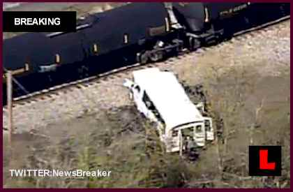 Evans City, PA Bus and Train Crash Today 2013: Victims Airlifted
